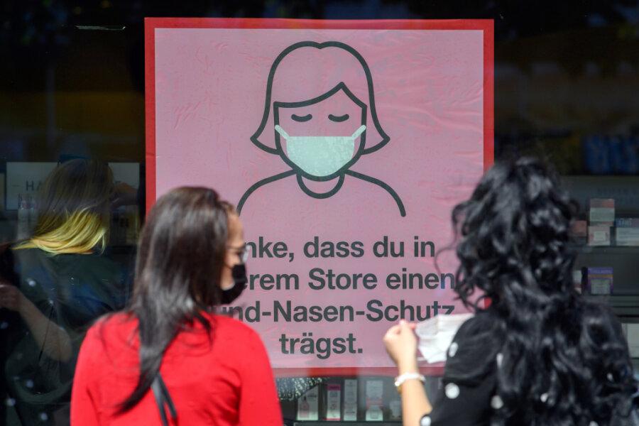 Auch Mittelsachsen reißt Inzidenz-Grenze - Neue Corona-Regeln ab Samstag