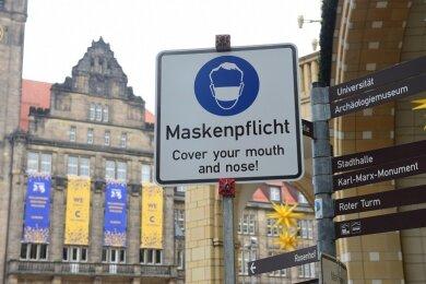 Die sogenannte Sieben-Tage-Inzidenz liegt in Chemnitz bei rund 190 - und damit weiterhin deutlich über dem kritischen Grenzwert von 50.
