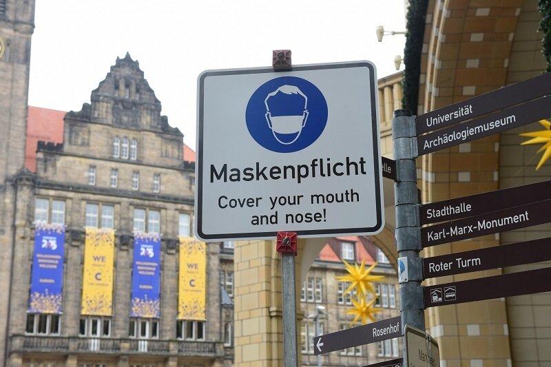 Alkoholverbot und Maskenpflicht: Das gilt ab Mittwoch in Chemnitz
