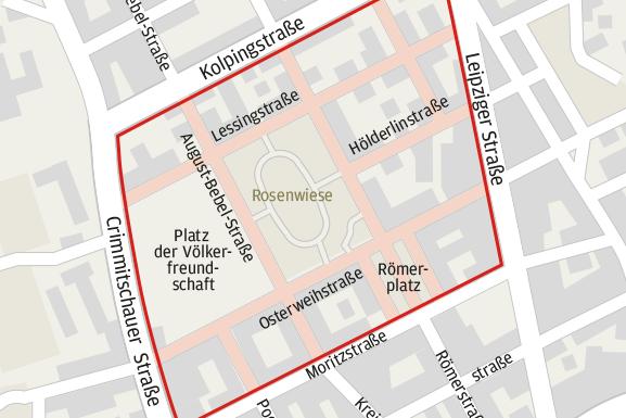 Neue Tempo-30-Zone in Zwickau