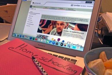 Ohne die entsprechende Technik wie Laptop (Foto), PC oder Tablet funktioniert Homeschooling nicht.