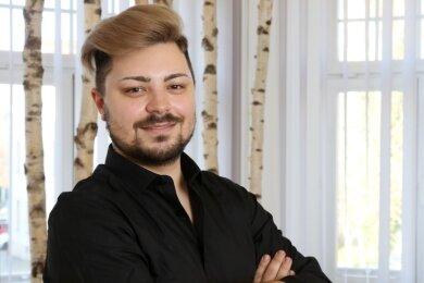 Lars Roth arbeitet jetzt in einem Salon in Zwickau.