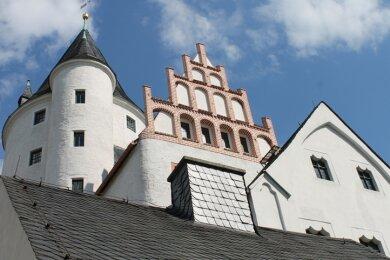 Das Schloss Schwarzenberg als ehemaliger Sitz eines Bergamtes soll mit der Montanregion Erzgebirge auf die Welterbeliste der Unesco.