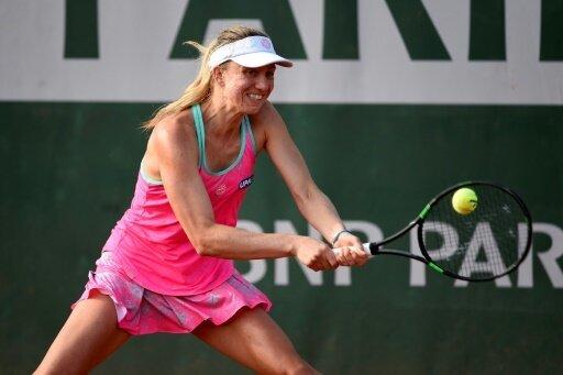 Mona Barthel zieht in Nottingham ins Viertelfinale ein