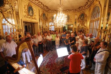 Die Veranstaltungen im Waldenburger Schloss waren überaus gut besucht.