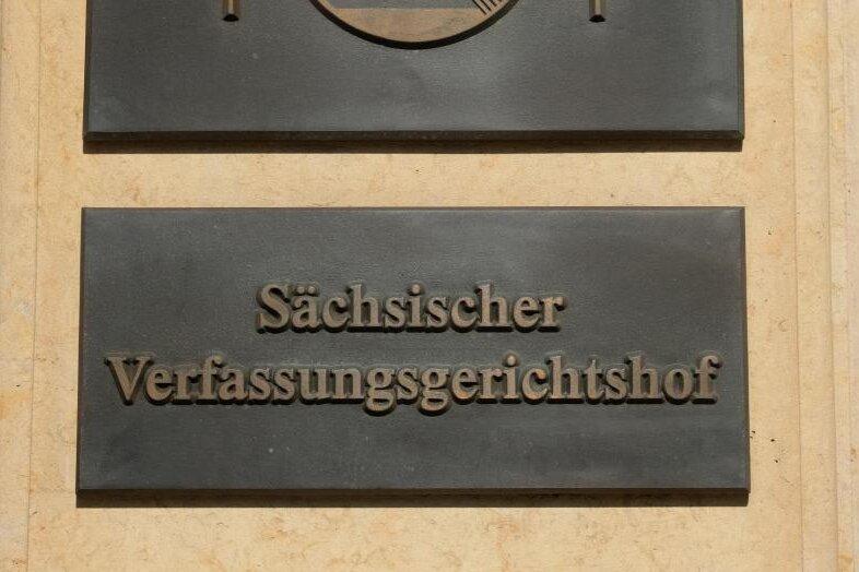Sächsisches Verfassungsgericht: AfD kann mit 30 Listenplätzen antreten