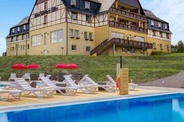 """Das Berghotel """"Wettiner Höhe"""" in Seiffen ist eines von sieben Hotels der Kette in Sachsen."""