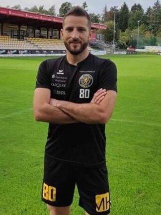Neuverpflichtung Michail Fragkos darf am Wochenende noch nicht für den VfB auflaufen.