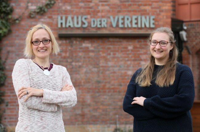 Simone Groß-Manes (links) und Tamara Bollendorf arbeiten für die Deutsche Krebsgesellschaft in Zwickau. Patienten können sie besuchen, wenn sie Unterstützung brauchen, manchmal helfen sie auch per Telefon.