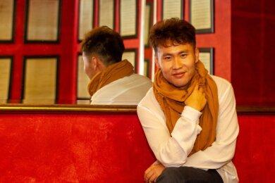 """Countertenor Noah Xuhui Du ist fasziniert von der Barock-Musik. Bei der anstehenden Händel-Oper """"Tamerlano"""" wird er in der Rolle des sensiblen Prinzen Andronico zu sehen und vor allem zu hören sein."""