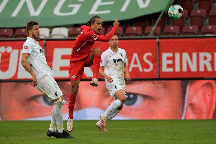 Yussuf Poulsen donnerte die Kugel per Volleyabnahme zum 2:0 ins Netz.