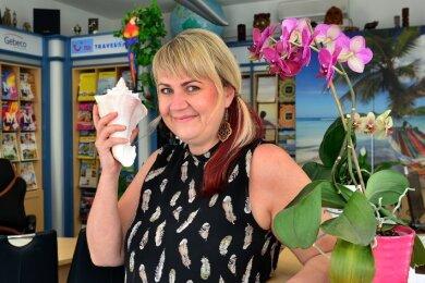Marion Preusker - Inhaberin des Mittweidaer Reisebüros an der Rochlitzer Straße