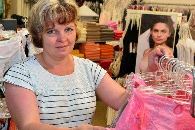 Manuela Männel - Inhaberin der Wäscheboutique Männel an der Rochlitzer Straße