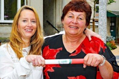 Kati Franke (links) ist Nachfolgerin von Sonja Dietrich.