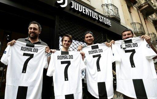 Das Ronaldo-Trikot ist bereits ein Verkaufsschlager