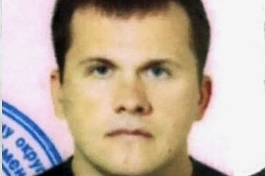 """Die von der Recherche-Webseite """"The Bellingcat"""" verbreiteten Fotos sollen Alexander Jewgeniwitsch Mischkin zeigen, den zweiten Verdächtigen."""