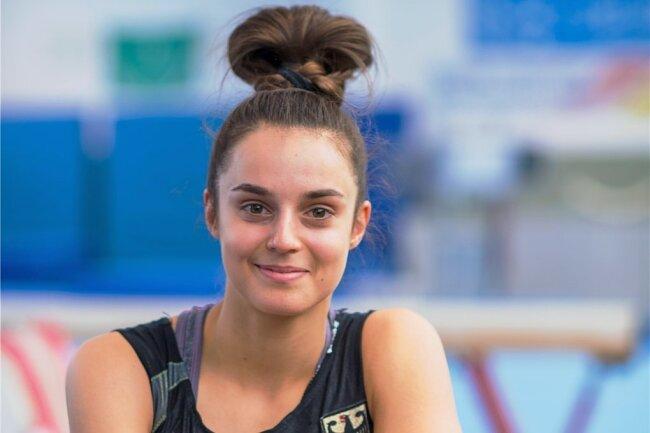 Pauline Schäfer kann wegen einer Fußverletzung seit nunmehr fast vier Wochen nur noch eingeschränkt trainieren.