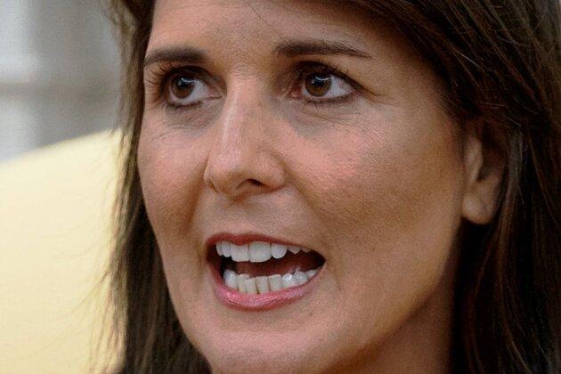 Nikki Haley - Scheidende UN-Botschafterin der USA