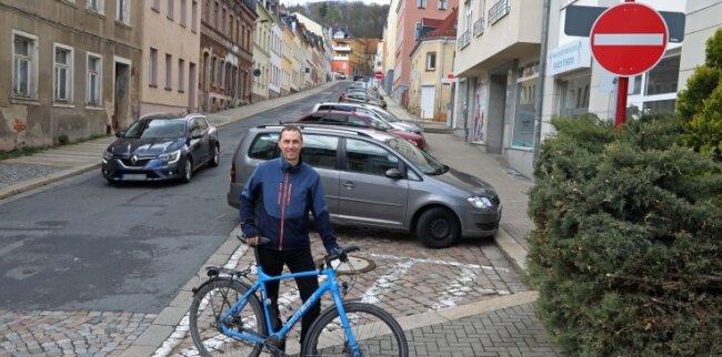 Lars Wendrock vom ADFC will keine Einbahnstraßen.
