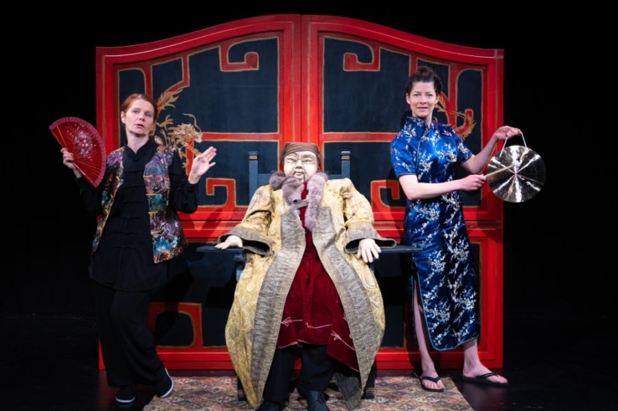 """Das Chemnitzer Fritz-Theater führt am Samstag das Kinderstück """"Die chinesische Nachtigall"""" auf."""