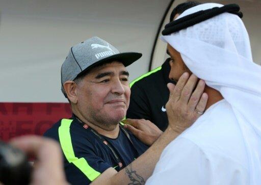 Maradona legt Traineramt bei Al Fujairah nieder