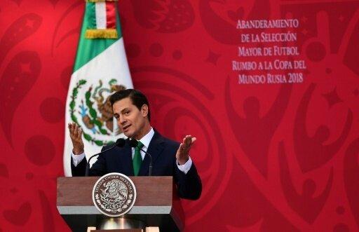 Mexikos Staatspräsident Nieto freut sich auf WM 2026