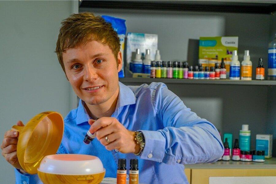 Entwickelt seine Produkte selbst: Alexander Helm, Geschäftsführer der Casida GmbH in Werdau.
