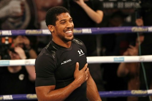 Anthony Joshua besiegte Powetkin nach sieben Runden.