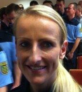 Mandy Hempel - AngehendeWachpolizistin