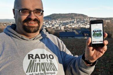 Radio Miriquidi heißt die neue Leidenschaft von René Weigel.