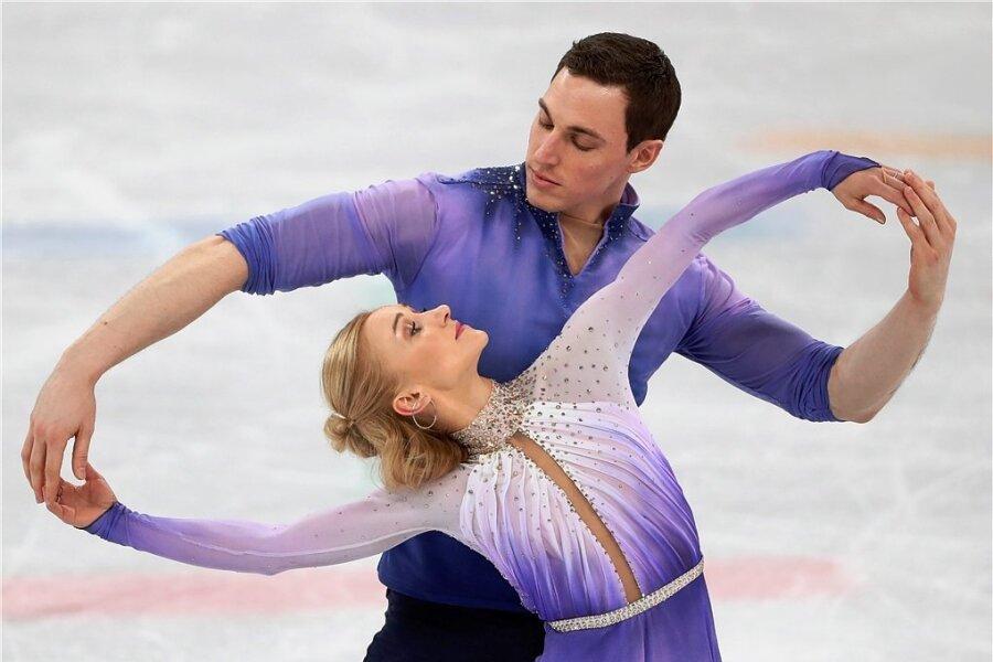 Die überragende Kür von Aljona Savchenko und Bruno Massot bei Olympia 2018 bleibt unvergesslich.