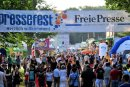 Das Pressefest 2014: Damals kamen 100.000 Besucher in den Chemnitzer Küchwald.