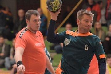 Tobias Neubert, hier in einem früheren Spiel gegen Burkhardtsdorf, steuerte einen Treffer zum Sieg gegen Oederan bei.