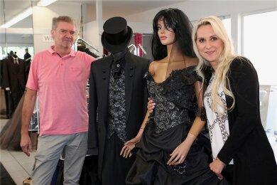 Die Chefin des Kleiderwahnsinns, Ina Riedel, hat die Taschen schon gepackt. In dieser Woche geht es für sie zur Fashion Week nach Mailand.