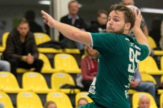 Mit Schwung ins erste Heimspiel: Jens Tieken. Der Rückraumspieler war im Vorjahr einer der Besten gegen Bad Blankenburg.