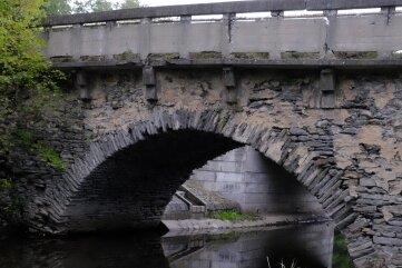 Die Egersche Brücke bei Mühlwand.