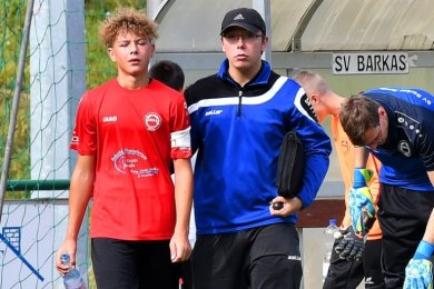 Wie geht es weiter? Die Nachwuchsfußballer der Region, hier C-Jugendliche des SV Barkas Frankenberg, blicken im Moment nicht sonderlich optimistisch in die Zukunft.