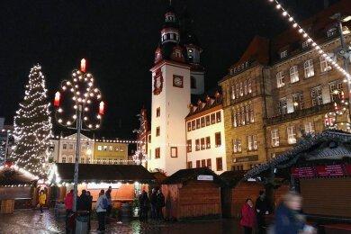 Der Chemnitzer Weihnachtsmarkt ist noch nicht endgültig abgesagt.