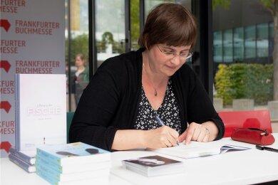 Susan Kreller auf der Frankfurter Buchmesse 2019.