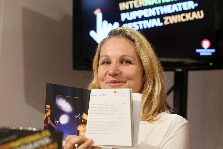 Monika Gerboc - Leiterin des Puppentheaters.