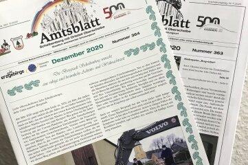 Der Scheibenberger Bürgermeister würde gern mehr bunte Bilder im Amtsblatt drucken.