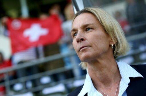 Martina Voss-Tecklenburg steht mit der Schweiz im Finale