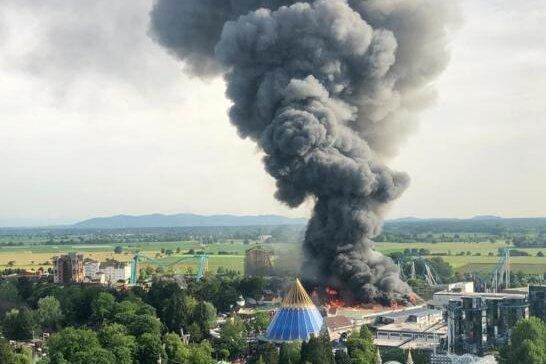 Ursache für Großbrand im Europa-Park steht fest