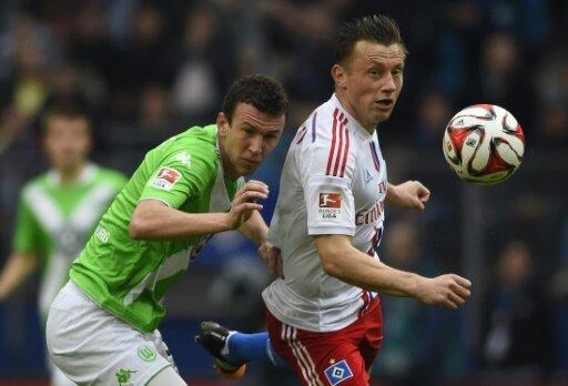 Olic (r.) war zweimal für den HSV aktiv