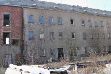 Soll für rund 366.000 Euro in diesem Jahr abgerissen werden: Das Ex-Verwaltungsgebäude des ehemaligen VEB Planet-Wäschefabrik Eppendorf.