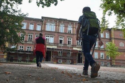 Die Förderschule in Altchemnitz soll ausgebaut und erweitert werden. Die Arbeiten dafür werden mehrere Jahre dauern.