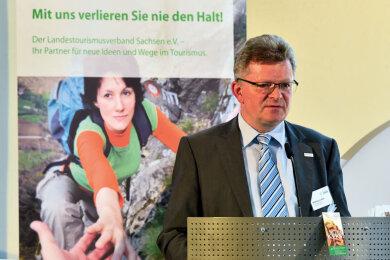 Matthias Lißke, Geschäftsführer der Wirtschaftsförderung Erzgebirge GmbH.