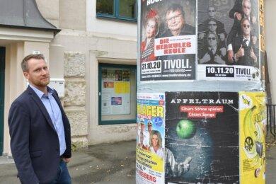 Martin Höher leitet seit September das Konzert- und Ballhaus Tivoli.