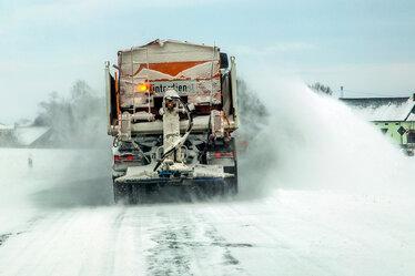 Winterdienst: Tief Egon hat Mittelsachsen fest im Griff