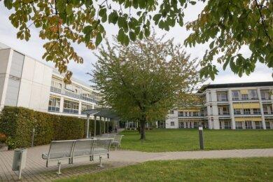 Besuchsverbot gilt im Hartmannsdorfer Krankenhaus für alle Stationen - ausgenommen sind die Intensivstation und Schwerkranke.